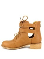 Bottine simili cuir Camel RETRANA, image 03