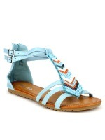 Sandales Turquoise