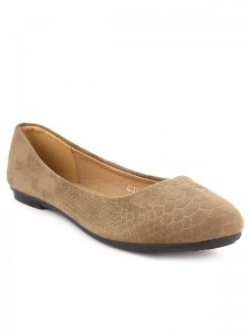 Ballerines  Taupe, Chaussures Femme, Cendriyon