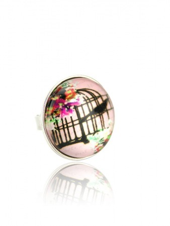 Bague Multicolore Dome Vintage OISELET