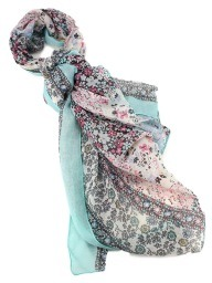 Foulards  Turquoise, Accessoires, Cendriyon