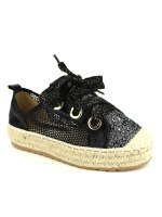Espadrille color Noir SEASON Paillettes, image 03