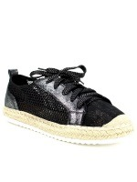 Derbies Espadrilles Black SIXTH SENS, image 02