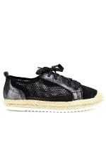 Derbies Espadrilles Black SIXTH SENS, image 01