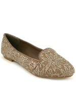 Mocassin Slippers Taupe SILINA Mode, image 01