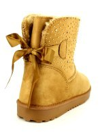 Boots Caramel Strass STEP, image 03