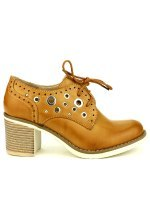 Low Boots Caramel JOELLE, image 01