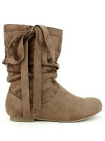 Bottines Taupe