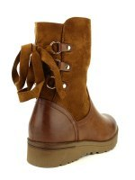 Bottines Caramel Simili peau CINKS, image 03