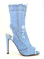 Lows Boots Jeans Blue clair BELLOS, image 01