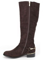 Botte Marron peau cuir STEPHANS , image 04