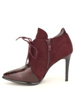 Lows Boots Bordeaux DERBIES JOALICE, image 02