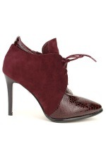 Lows Boots Bordeaux DERBIES JOALICE, image 03