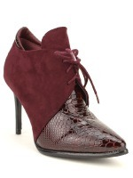 Lows Boots Bordeaux DERBIES JOALICE, image 01