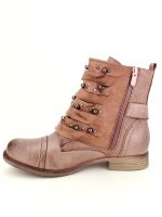 Bottines Rose simili cuir SENSTH, image 02
