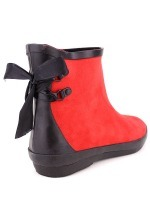 Bottine de pluie Rouge FASHION Mode, image 03