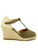 Espadrille color kaki BELLO STAR, image 01