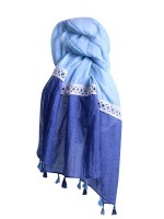 Foulard Blue ANGEL, image 01