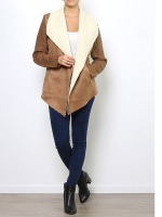Veste simili peau cuir MY SOFTY, image 02