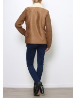 Veste simili peau cuir MY SOFTY, image 04