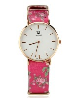 Montre Flowers Rose BELLOS, image 01