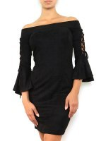 Robe Froufrou noire JUS AND CO, image 01
