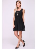 Robe noire JIALY MODE Bijoux inlcus , image 02