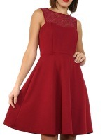 Robe Bordeaux  LUCKY STYLE, image 01