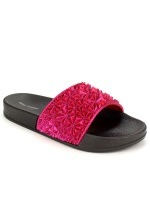 Mule Fushia paillettes MINI FASHION, image 02