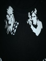 Tee Shirt Noir STAR WARS, image 02