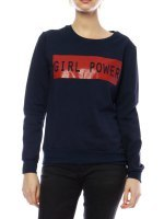 Swaet GIRL POWER Color bleu marine, image 01