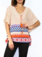 Tops Orange corail JOWELL, image 01