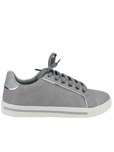 Baskets  Gris, Chaussures Femme, Cendriyon