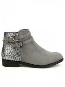 Bottines  Gris, Chaussures Femme, Cendriyon