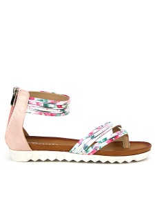 Tongs  Rose, Chaussures Femme, Cendriyon