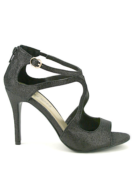Chaussures grises Sexy femme n97o7eMh