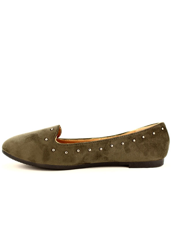 Ballerines Taupe Chaussures Femme, Cendriyon