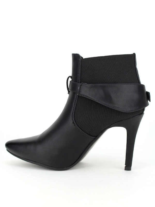 ... Lows boots noires DAYNA , image 02 ...
