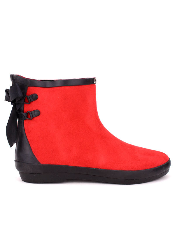 Bottine pluie Mode de Rouge FASHION kiuOPXZ