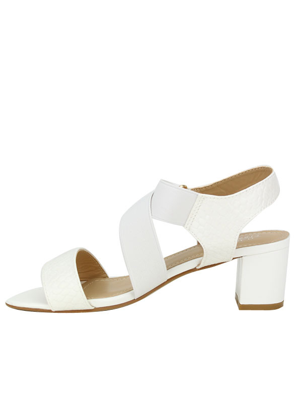 2b7558a78380e7 Accueil / Chaussures Femme / SandalesSandale Blanche OMODA. Sandale Blanche  OMODA, image 01 Sandale Blanche OMODA, image 02