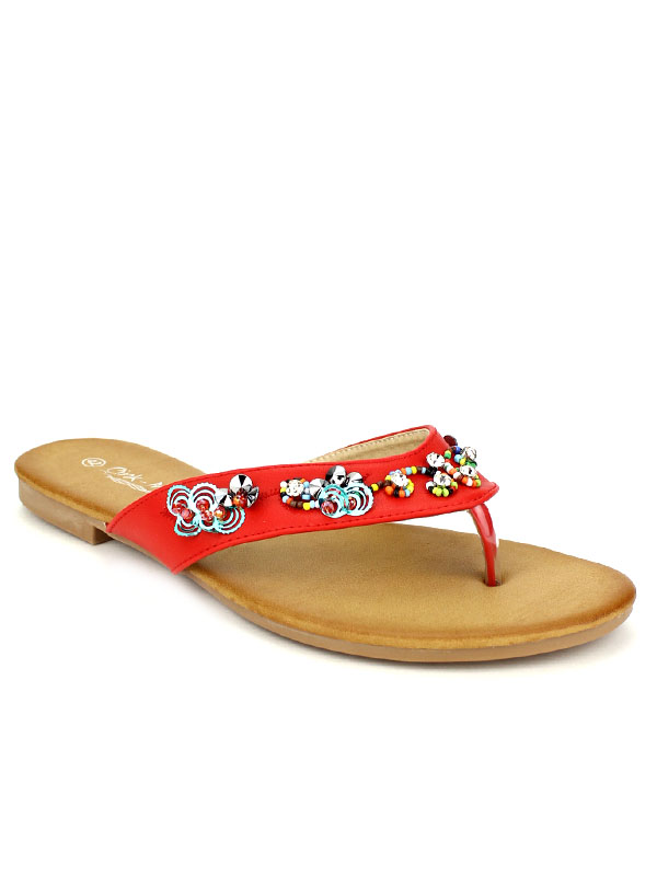... Tong rouge CINKS PERLES COLORS, image 02