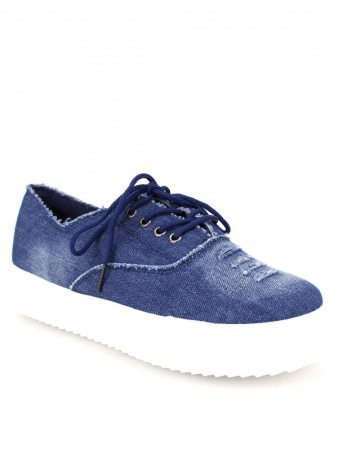 Basket SLIPPERS Blue LIKE'S, image 02