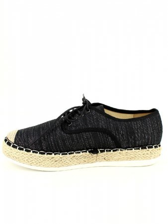 Espadrilles R AND BE Noires, image 03
