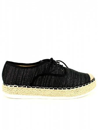 Espadrilles R AND BE Noires