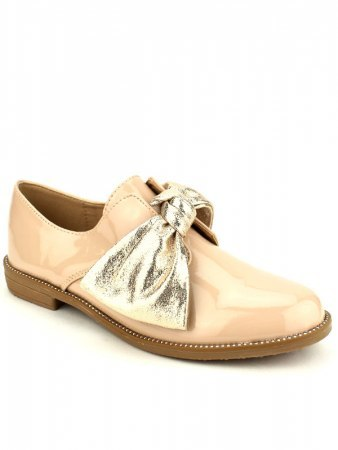 Derbies vernies Beige LIBRA POP, image 02
