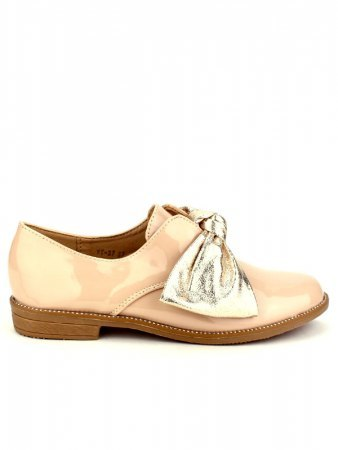 Derbies vernies Beige LIBRA POP