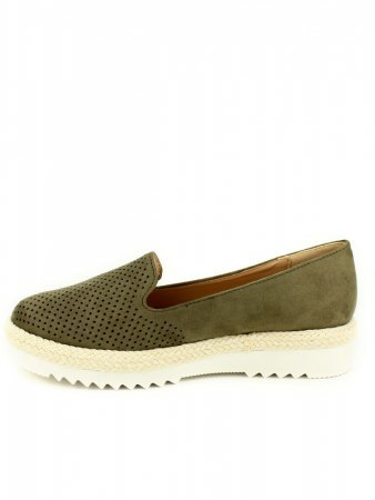 Espadrille color Kaki R AND BE , image 03