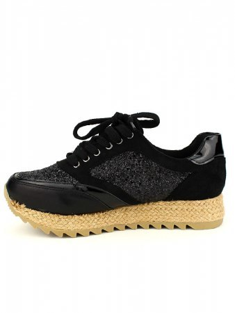 Basket Mode Espadrilles Black CREATION, image 03