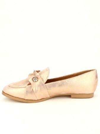 Derbies color Champagne LADY GLORY avec broche, image 02