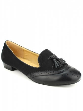Mocassins Noires  M&L SHOES , image 02